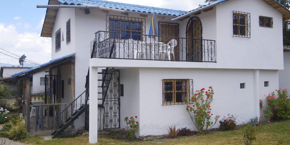 Exterior of Casa Imbabura